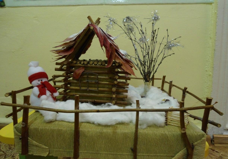 Зимние поделки в детский сад 67